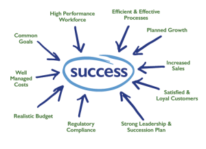 High performing organization success graphic